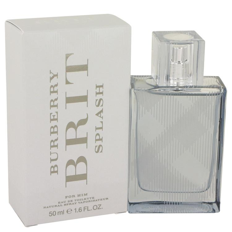Burberry Brit Splash by Burberry Eau De Toilette Spray for Men - Oliavery