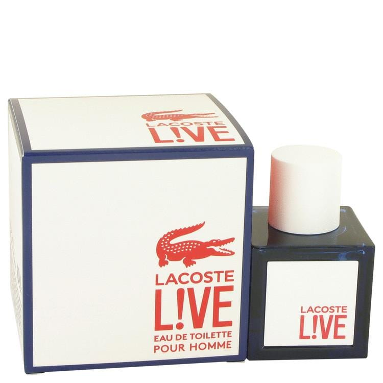 Lacoste Live by Lacoste Eau Toilette Spray for Men - Oliavery