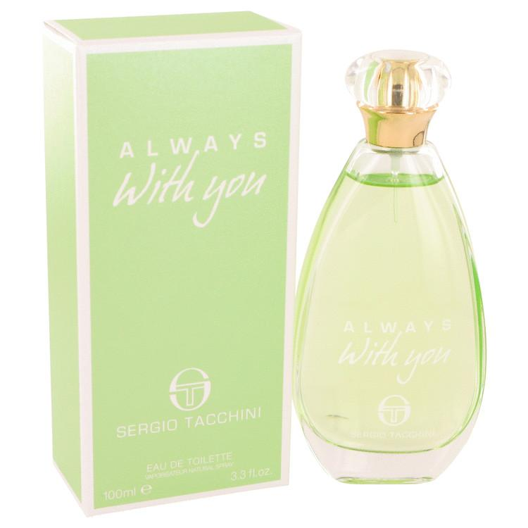 Sergio Tacchini Always With You by Sergio Tacchini Eau De Toilette Spray 3.3 oz for Women - Oliavery