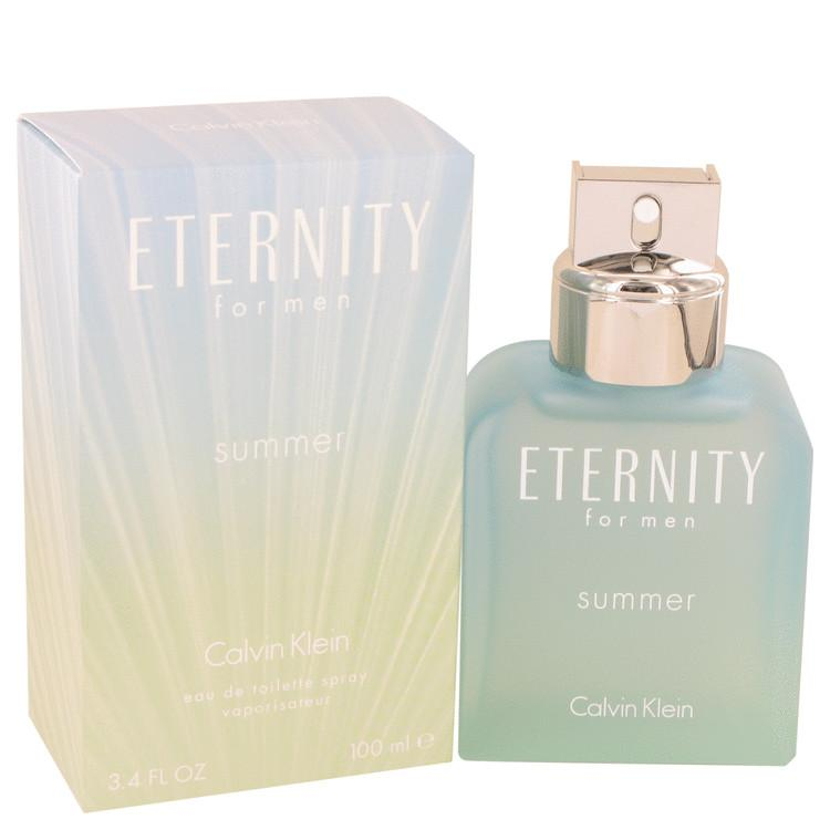 Eternity Summer by Calvin Klein Eau De Toilette Spray for Men