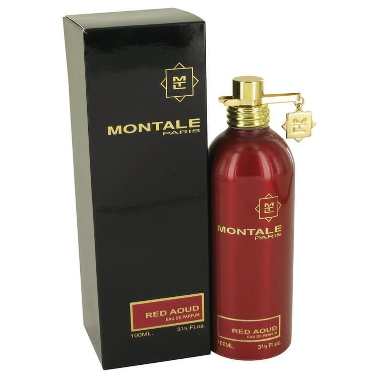Montale Red Aoud by Montale Eau De Parfum Spray 3.4 oz for Women - Oliavery