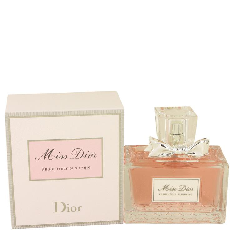 Miss Dior Absolutely Blooming by Christian Dior Eau De Parfum Spray for Women - Oliavery