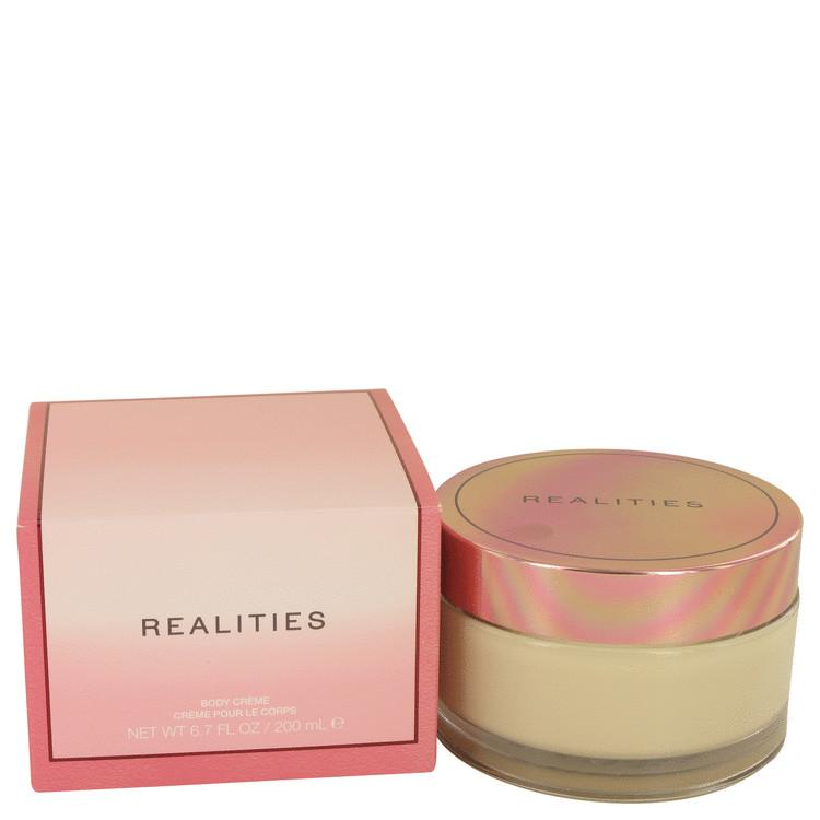 Realities (New) by Liz Claiborne Body Cream Glass Jar 6.7 oz for Women - Oliavery