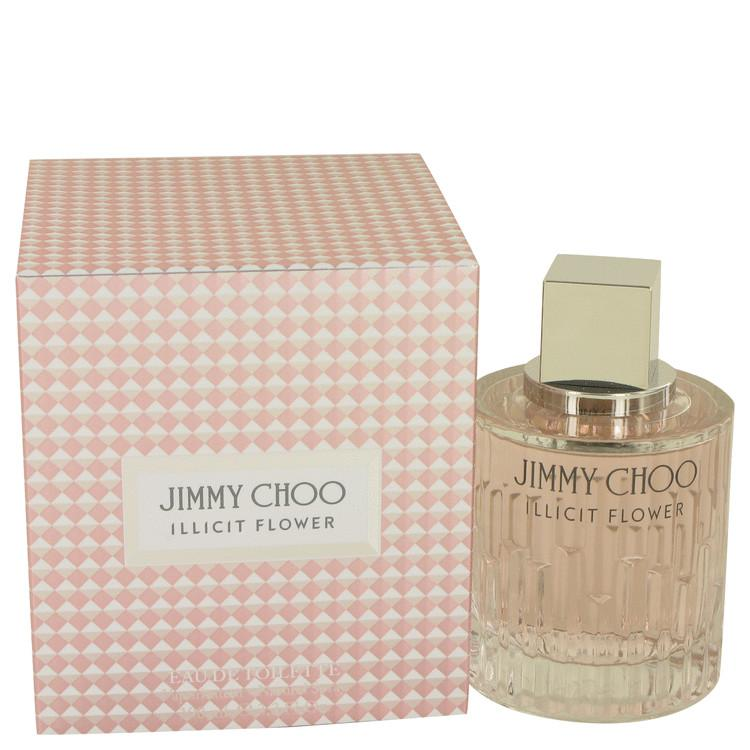 Jimmy Choo Illicit Flower by Jimmy Choo Eau De Toilette Spray for Women - Oliavery
