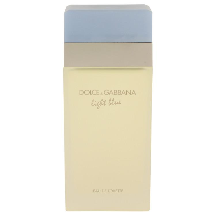 Light Blue by Dolce & Gabbana Eau De Toilette Spray (unboxed) 6.7 oz for Women - Oliavery