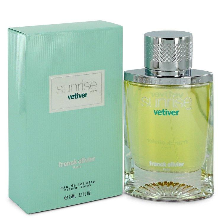 Sunrise Vetiver by Franck Olivier Eau De Toilette Spray 2.5 oz for Men