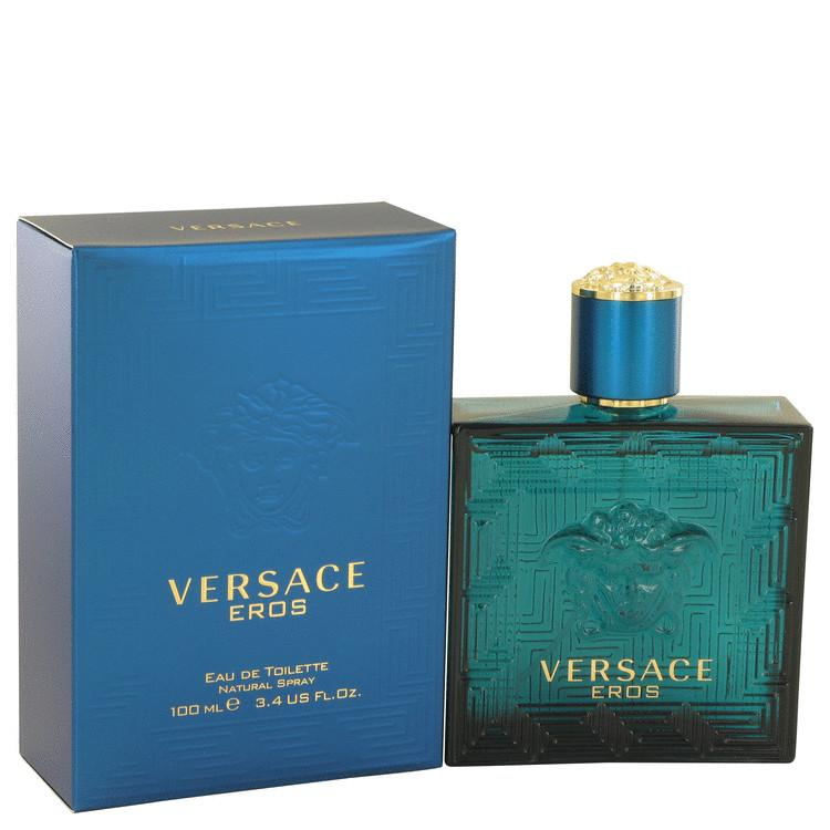 Versace Eros by Versace Eau De Toilette Spray (unboxed) 3.4 oz for Men - Oliavery