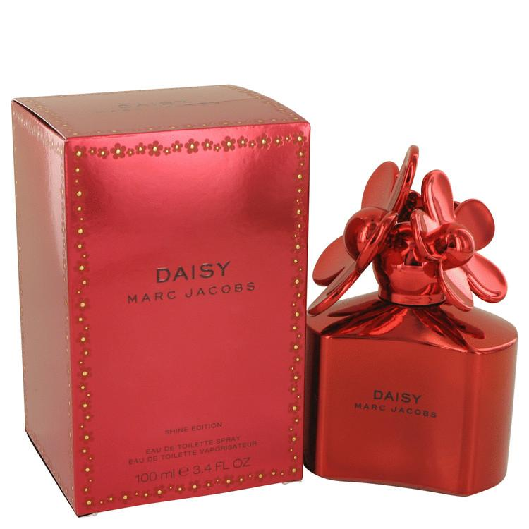 Daisy Shine Red by Marc Jacobs Eau De Toilette Spray 3.4 oz for Women