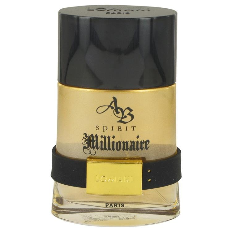 Spirit Millionaire by Lomani Eau De Toilette Spray (unboxed) 3.3 oz for Men