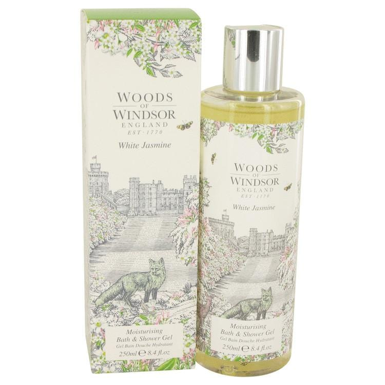 White Jasmine by Woods of Windsor Shower Gel 8.4 oz for Women - Oliavery