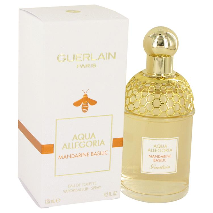 AQUA ALLEGORIA Mandarine Basilic by Guerlain Eau De Toilette Spray 4.2 oz for Women - Oliavery