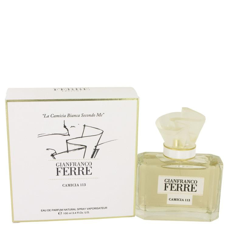 Gianfranco Ferre Camicia 113 by Gianfranco Ferre Eau De Parfum Spray 3.4 oz for Women - Oliavery