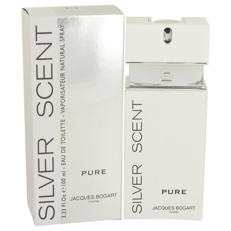 Silver Scent Pure by Jacques Bogart Eau De Toilette Spray 3.4 oz for Men - Oliavery