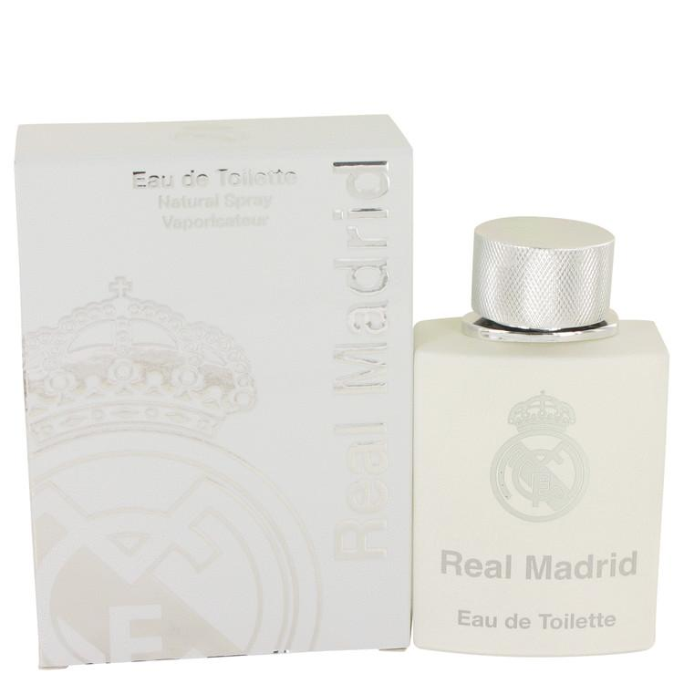Real Madrid by AIR VAL INTERNATIONAL Eau De Toilette Spray 3.4 oz for Women - Oliavery