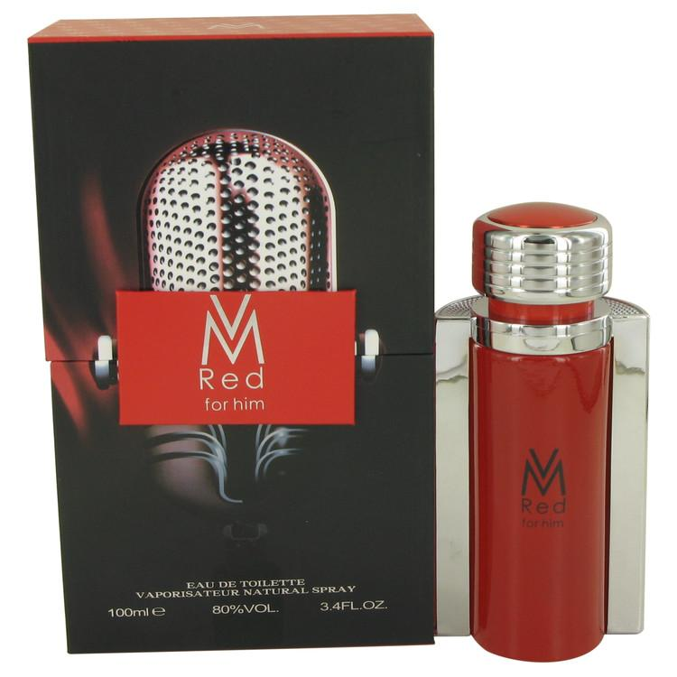 Victor Manuelle Red by Victor Manuelle Eau De Toilette Spray 3.4 oz for Men