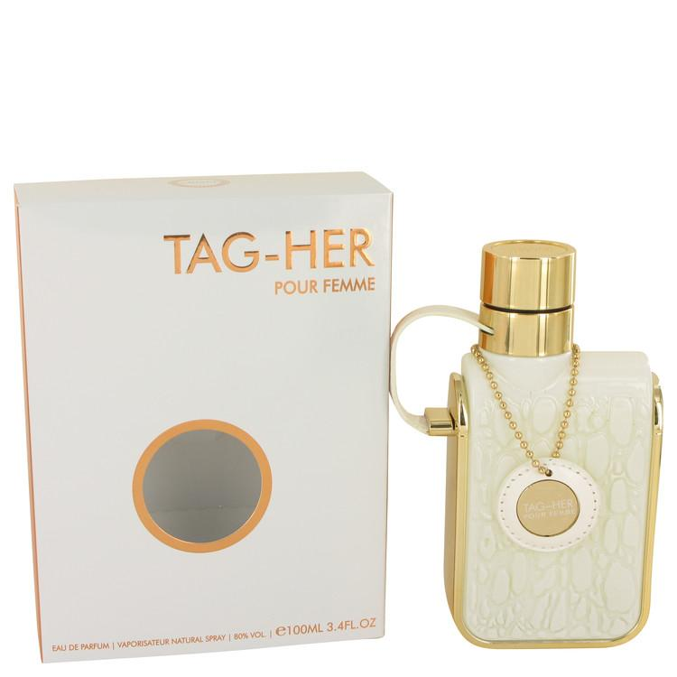 Armaf Tag Her by Armaf Eau De Parfum Spray 3.4 oz for Women - Oliavery