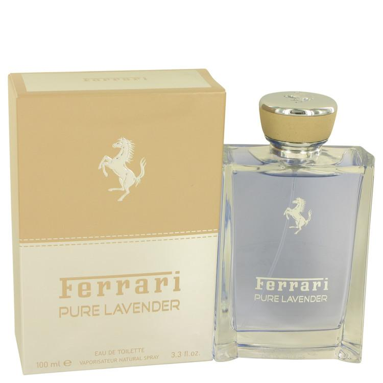 Ferrari Pure Lavender by Ferrari Eau De Toilette Spray (Unisex) 3.4 oz for Men - Oliavery