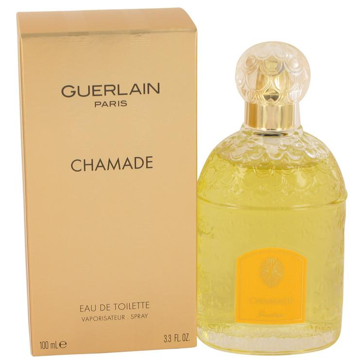CHAMADE by Guerlain Eau De Toilette Spray 3.3 oz for Women - Oliavery