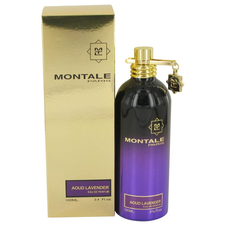 Montale Aoud Lavender by Montale Eau De Parfum Spray (Unisex) 3.4 oz for Women - Oliavery