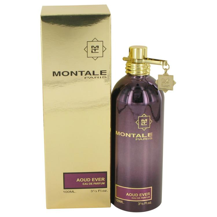 Montale Aoud Ever by Montale Eau De Parfum Spray (Unisex) 3.4 oz for Women - Oliavery
