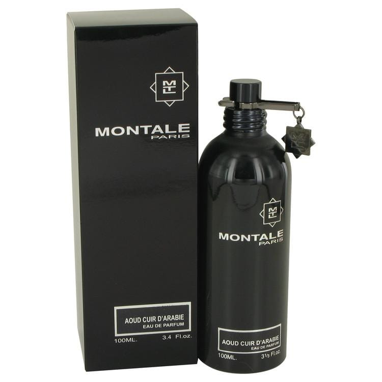 Montale Aoud Cuir D'arabie by Montale Eau De Parfum Spray (Unisex) 3.4 oz for Women - Oliavery