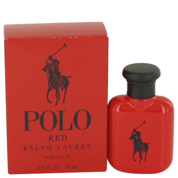 Polo Red by Ralph Lauren Eau De Toilette .5 oz for Men - Oliavery