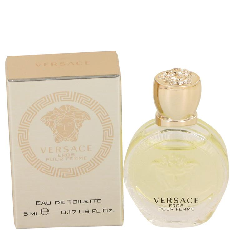 Versace Eros by Versace Mini EDT .17 oz for Women