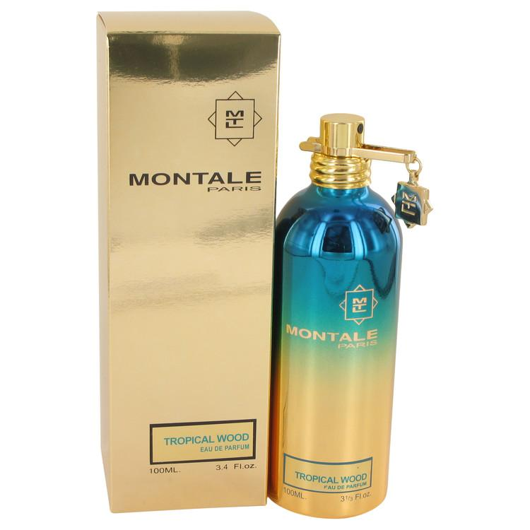 Montale Tropical Wood by Montale Eau De Parfum Spray (Unisex) 3.4 oz for Women - Oliavery