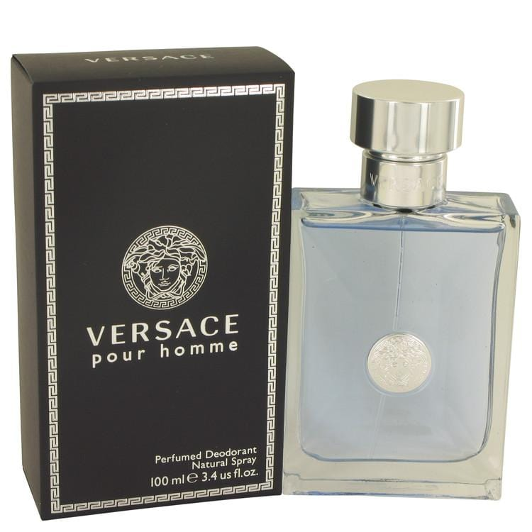 Versace Pour Homme by Versace Deodorant Spray 3.4 oz for Men - Oliavery