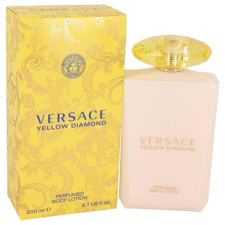 Versace Yellow Diamond by Versace Body Lotion 6.7 oz for Women - Oliavery