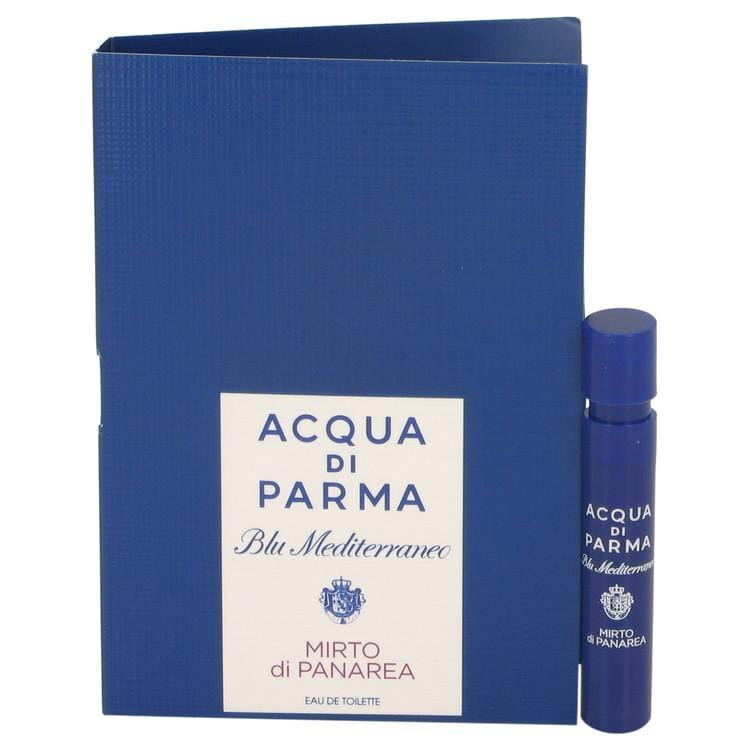 Blu Mediterraneo Mirto Di Panarea by Acqua Di Parma Vial (sample) .04 oz for Women - Oliavery