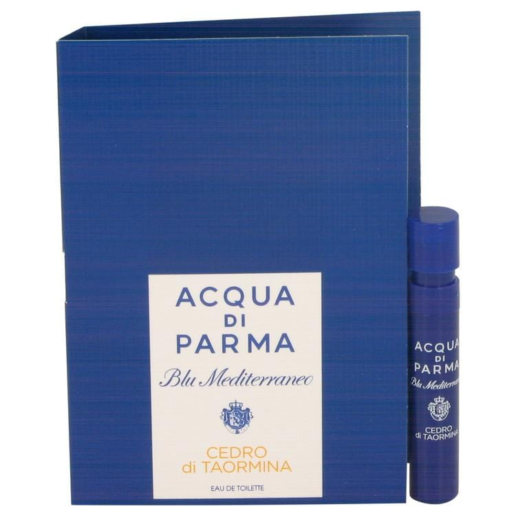 Blu Mediterraneo Cedro Di Taormina by Acqua Di Parma Vial (sample) .04 oz for Women - Oliavery