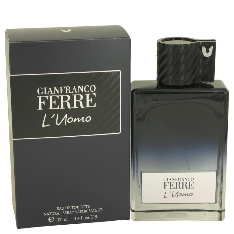 Gianfranco Ferre L'uomo by Gianfranco Ferre Eau De Toilette Spray 3.4 oz for Men - Oliavery