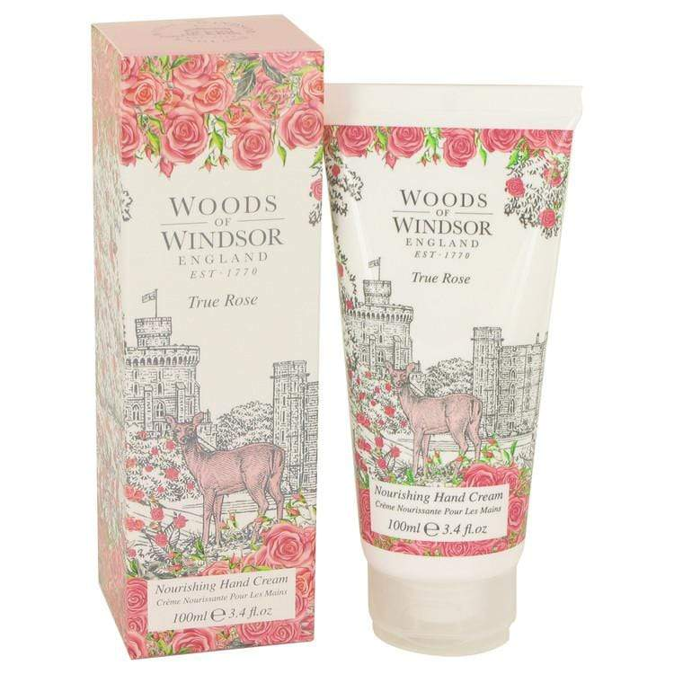 True Rose by Woods of Windsor Hand Cream 3.4 oz for Women - Oliavery