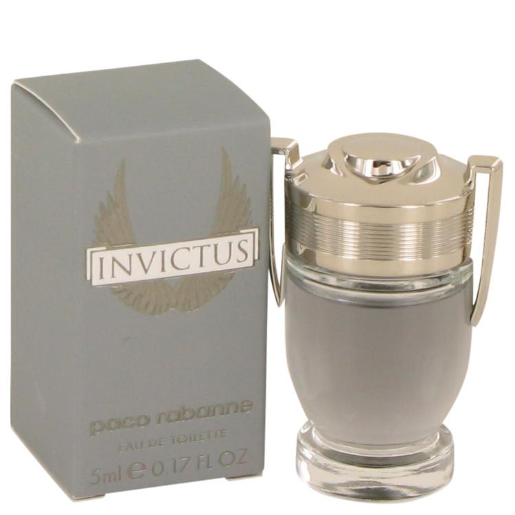 Invictus by Paco Rabanne Mini EDT .17 oz for Men - Oliavery