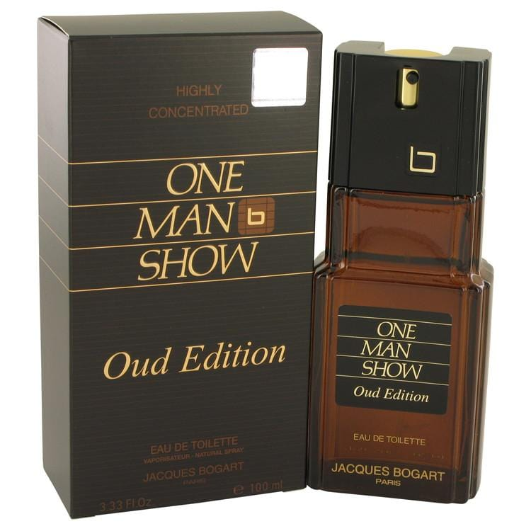 One Man Show Oud Edition by Jacques Bogart Eau De Toilette Spray 3.4 oz for Men - Oliavery