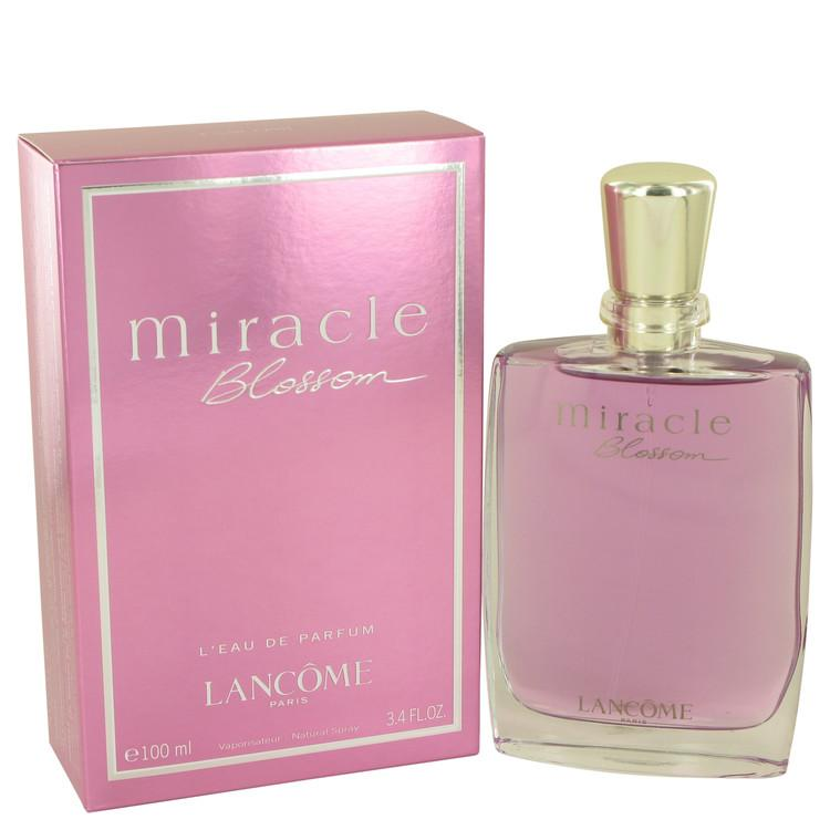 Miracle Blossom by Lancome Eau De Parfum Spray 3.4 oz for Women - Oliavery
