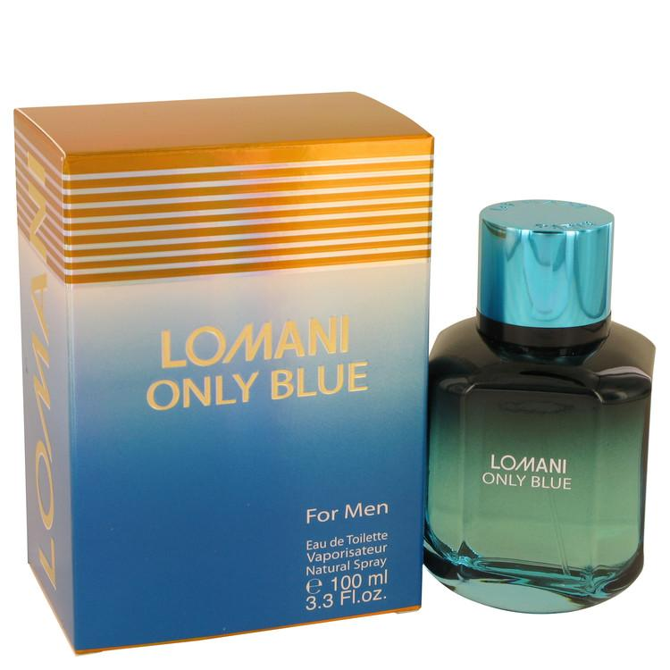Lomani Only Blue by Lomani Eau De Toilette Spray 3.3 oz for Men - Oliavery