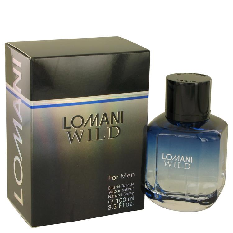 Lomani Wild by Lomani Eau De Toilette Spray 3.3 oz for Men - Oliavery