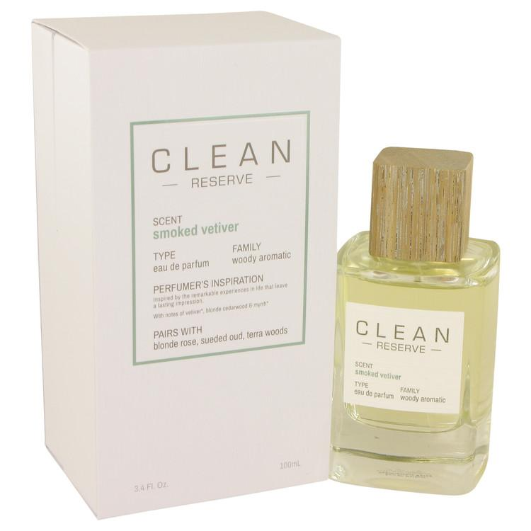 Clean Smoked Vetiver by Clean Eau De Parfum Spray 3.4 oz for Women - Oliavery