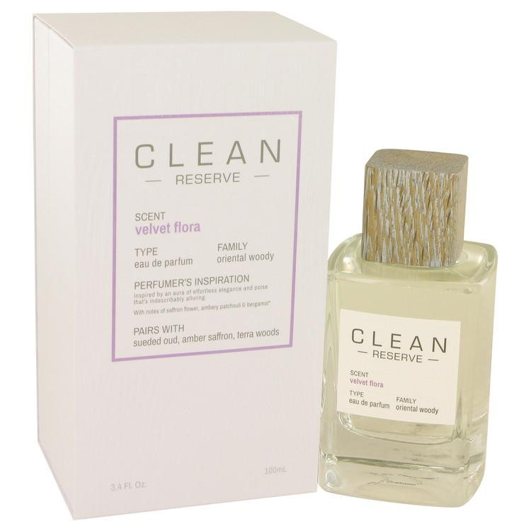 Clean Velvet Flora by Clean Eau De Parfum Spray 3.4 oz for Women - Oliavery