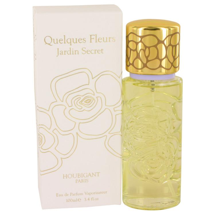Quelques Fleurs Jardin Secret by Houbigant Eau De Parfum Spray 3.4 oz for Women - Oliavery