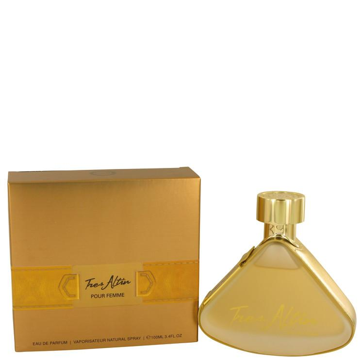 Armaf Tres Altin by Armaf Eau De Parfum Spray 3.4 oz for Women