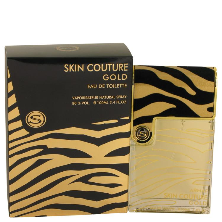 Armaf Skin Couture Gold by Armaf Eau De Toilette Spray 3.4 oz for Men - Oliavery