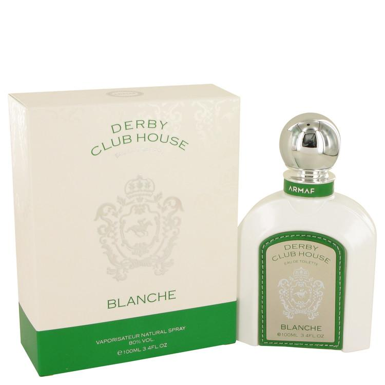 Armaf Derby Blanche White by Armaf Eau De Toilette Spray 3.4 oz for Men - Oliavery