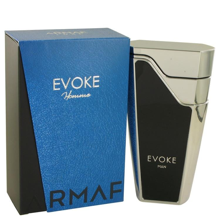 Armaf Evoke Blue by Armaf Eau De Parfum Spray 2.7 oz for Men - Oliavery