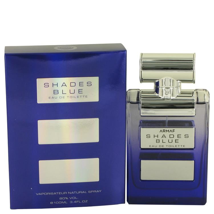 Armaf Shades Blue by Armaf Eau De Toilette Spray 3.4 oz for Men - Oliavery