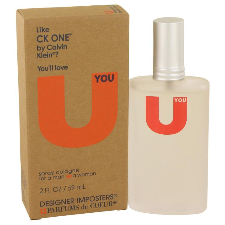 Designer Imposters U You by Parfums De Coeur Cologne Spray (Unisex) 2 oz for Women - Oliavery