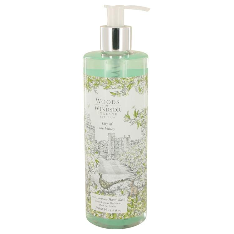 Lily of the Valley (Woods of Windsor) by Woods of Windsor Hand Wash 11.8 oz for Women - Oliavery