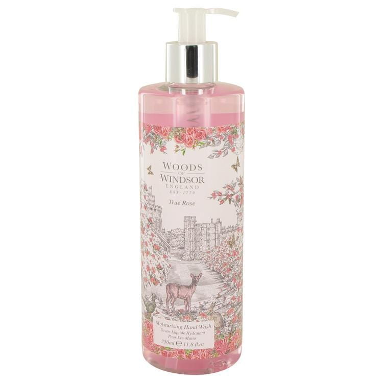 True Rose by Woods of Windsor Hand Wash 11.8 oz for Women - Oliavery